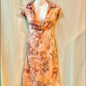 Free People Vintage Midi Dress w Empire Waist, Med